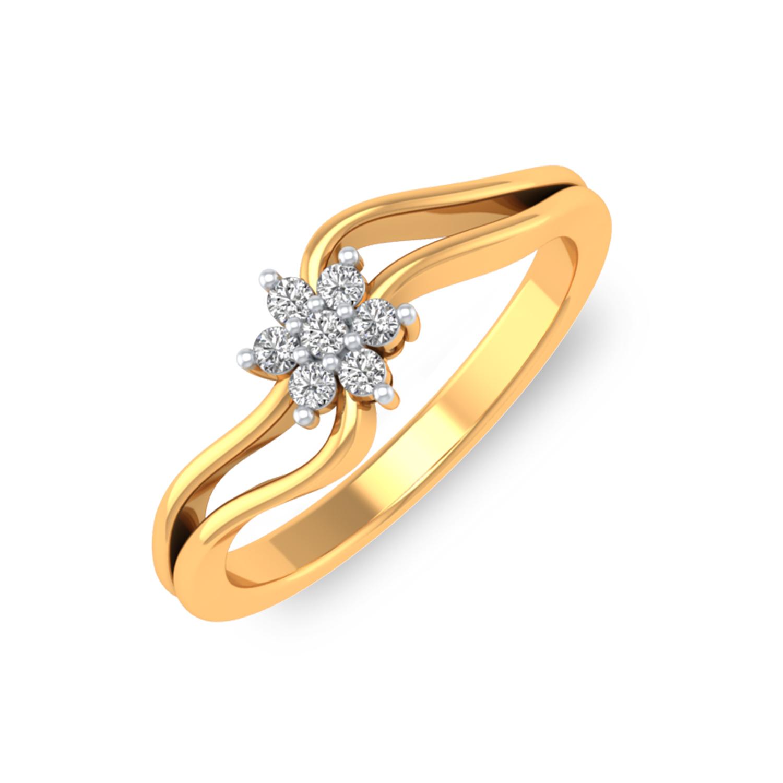5de2016397d7b Jasmin Diamond Engagement Ring For Her