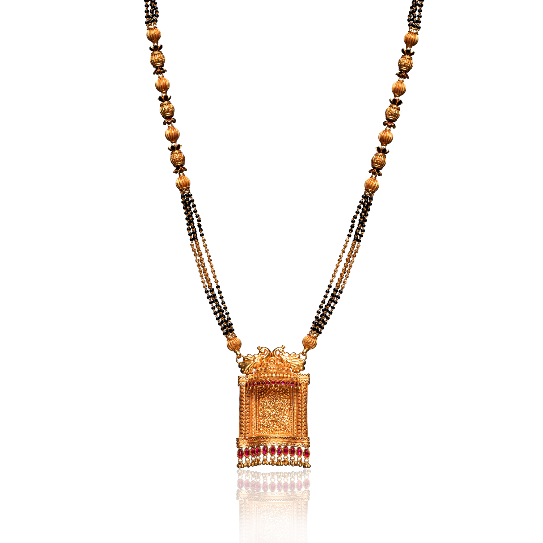 Priyamvada 22kt Gold Png Mangalsutra