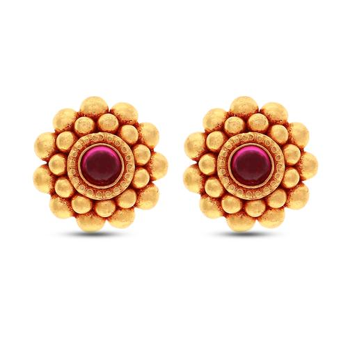 6c937b8fb Latest Collection Of Gold Earrings Online  PN Gadgil Jewellers