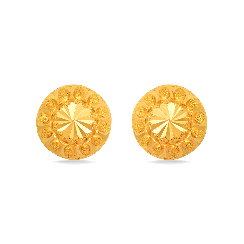 99109fb264d6b Simple Floral Motif Studs