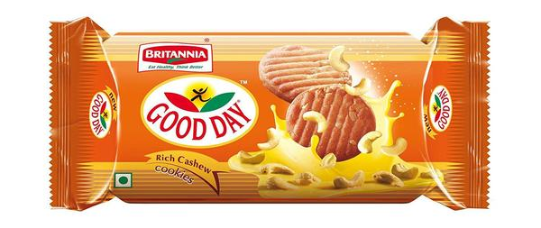 Britannia Good Day Rich Cashew Cookies
