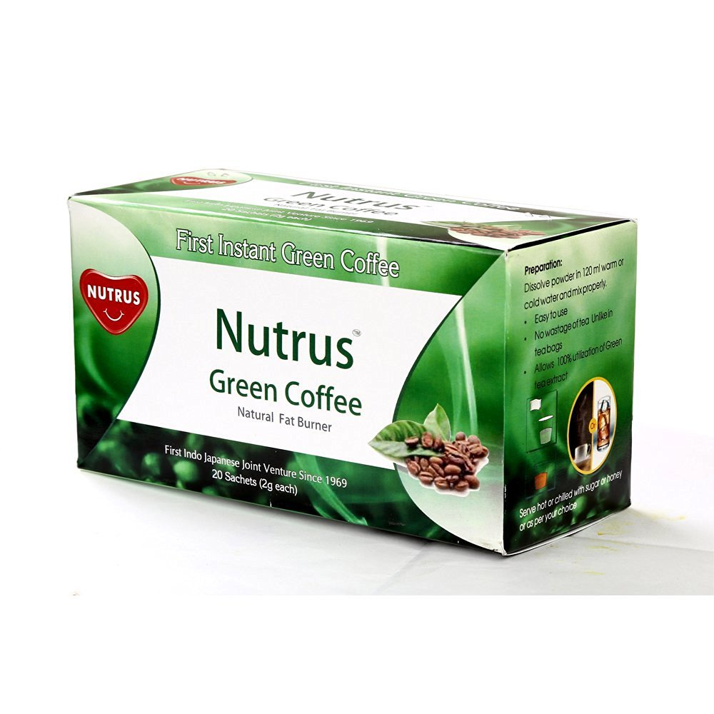 Nutrus Green Coffee 20 Tea Bags At Online Grocery Hypercity Fresh