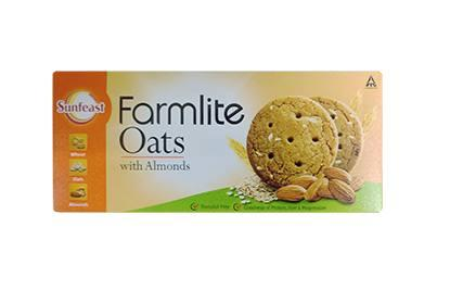 Sunfeast Farmlite Oats and Almonds Cookies