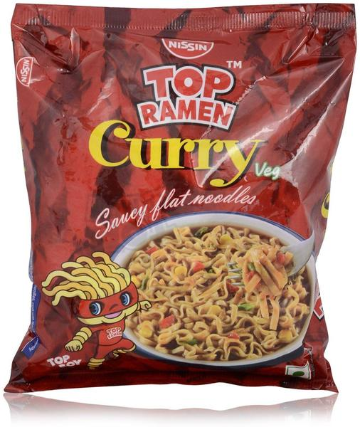 Top Ramen Noodles - Curry