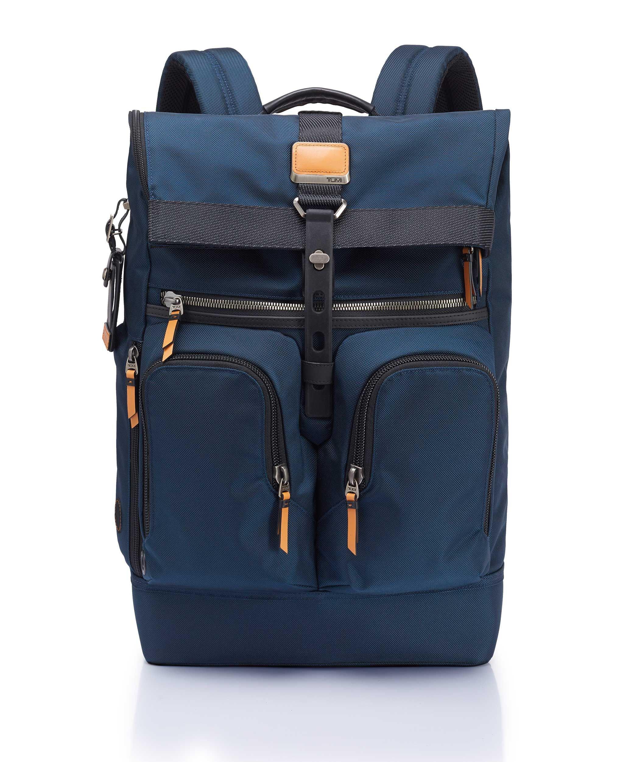 b3a54c66b2f1 London Roll-Top Backpack