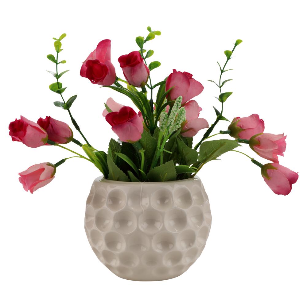 225 & Flower Pot 26 X 22 X 21Cm