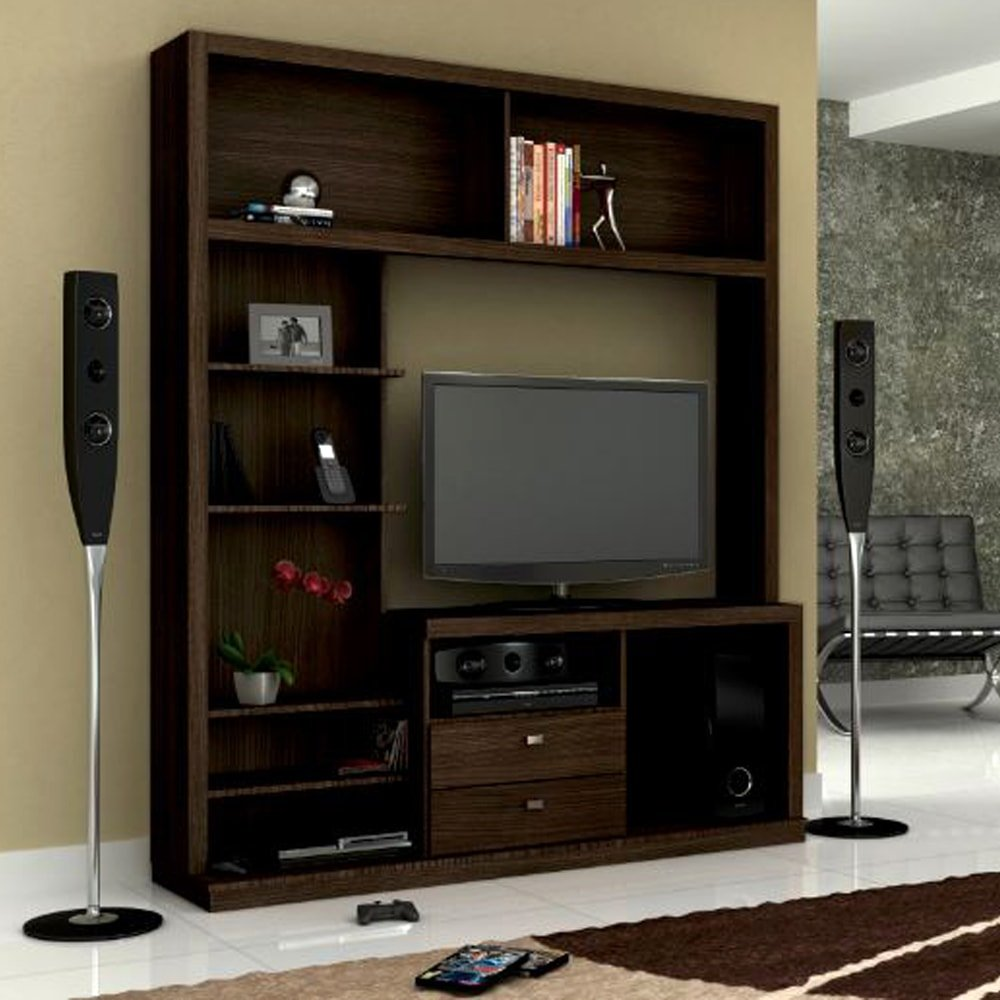 Tv and entertainment units isabel engineerwood entertainment unit brown