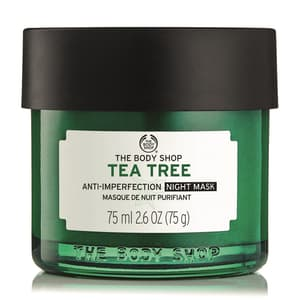 Moisturisers, Skincare, Home, TEA TREE, Tea Tree Anti-Imperfection Night Mask