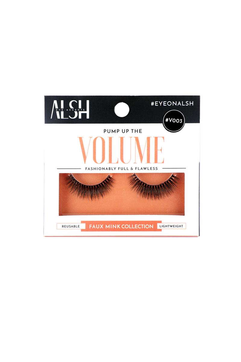 acefd5a46d2 ALSH #V003 Volume Premium 3D Faux Mink Eye Lashes | Planeteves.com