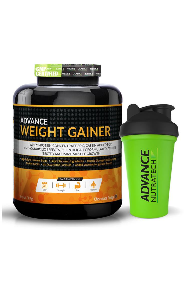Advance Nutratech Weight Gainer 6Lbs Chocolate Wit