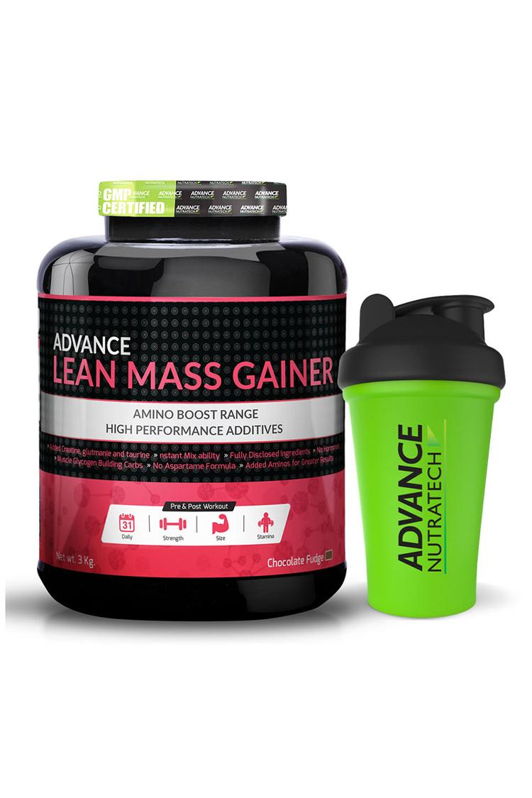 Advance Nutratech Lean Mass Gainer 6Lbs Chocolate