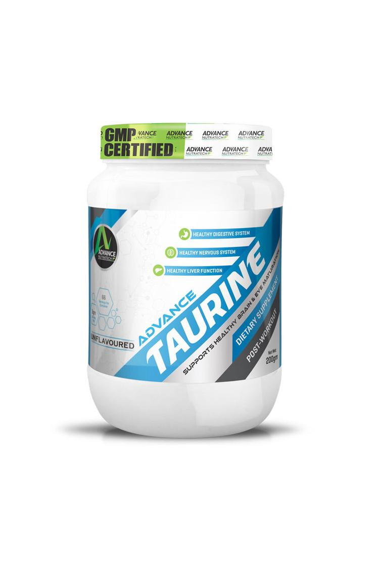 Advance Nutratech Taurine Post Workout 200Gm Unfla