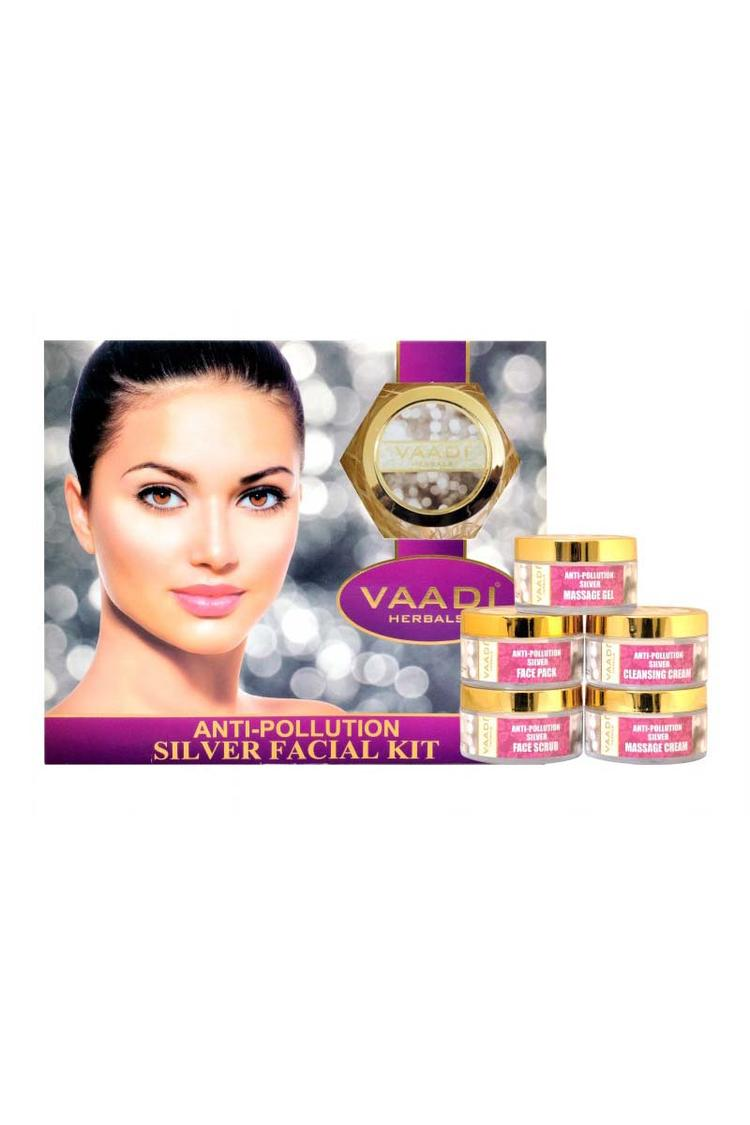Vaadi Herbals Antipollution Silver Facial Kit
