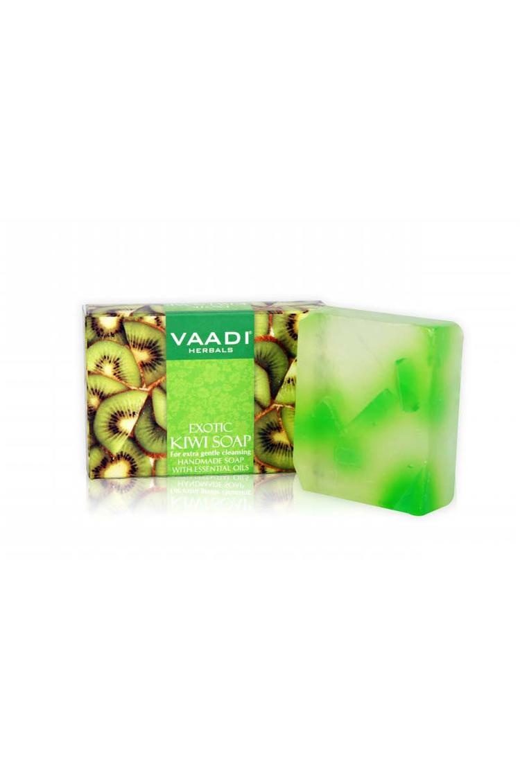 Vaadi Herbals Exotic Kiwi Soap With Green Apple Ex