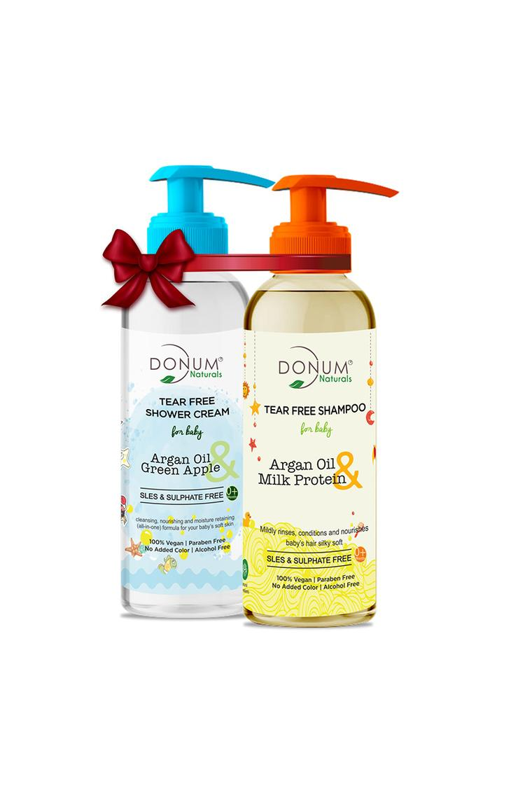 Donum Sulphate Free Tear Free Body Wash And Shampo