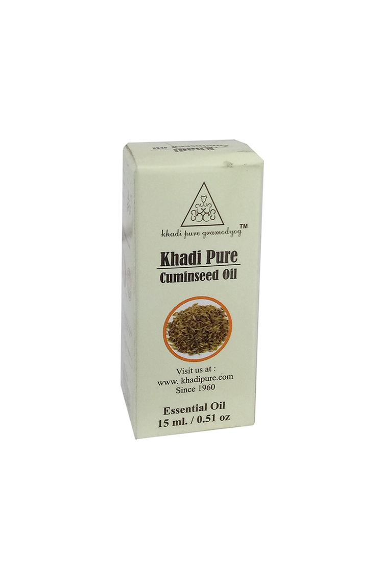 Khadi Pure Herbal Cuminseed Essential Oil 15Ml