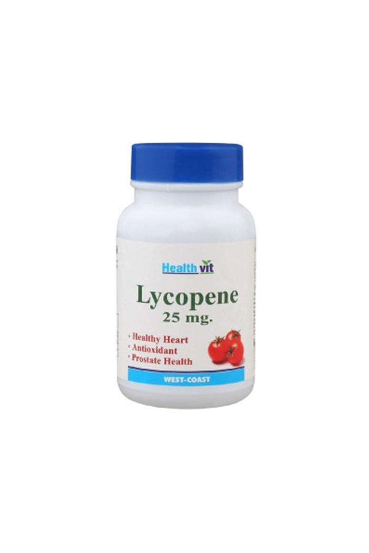Healthvit Lycopene 25Mg 60Tablets For Healthy Hear