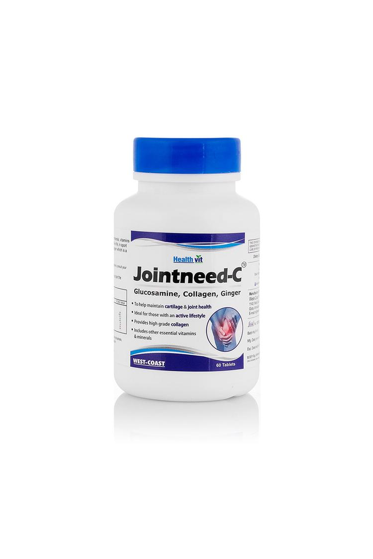 Healthvit Jointneedc Glucosamine Collagen Ginger 6