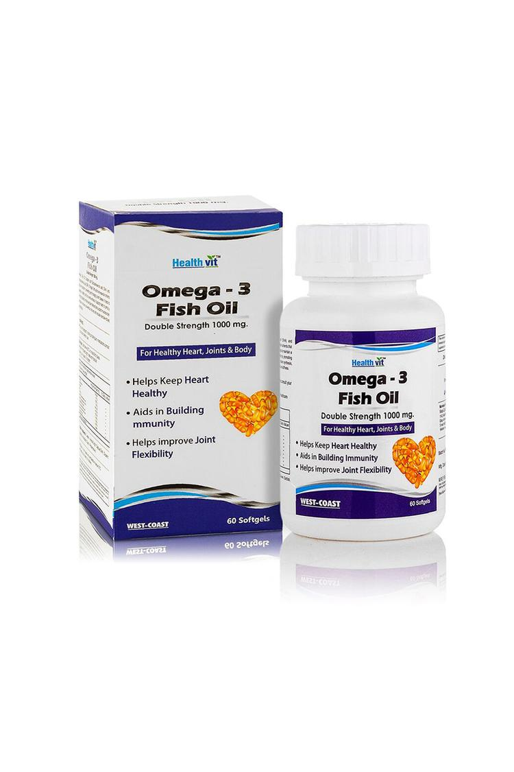 Healthvit Omega3 Fish Oil Double Strength 1000Mg