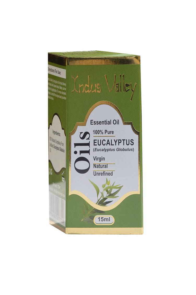 Indus Valley Bio Organic Eucalyptus Essential Oil