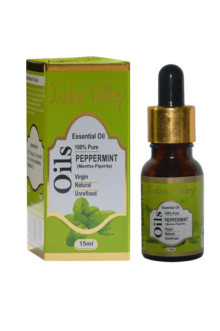 Indus Valley Bio Organic Pepperment Essential Oil