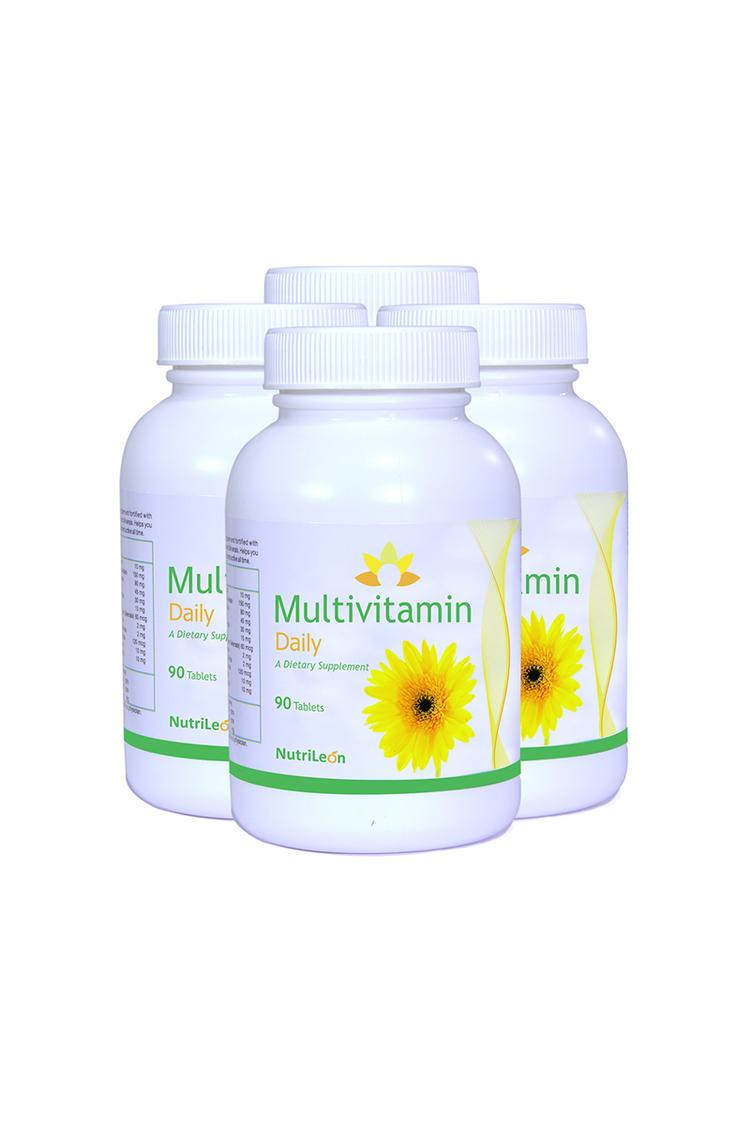 Nutrileon Multivitamin Daily With Spirulina,Ginsen