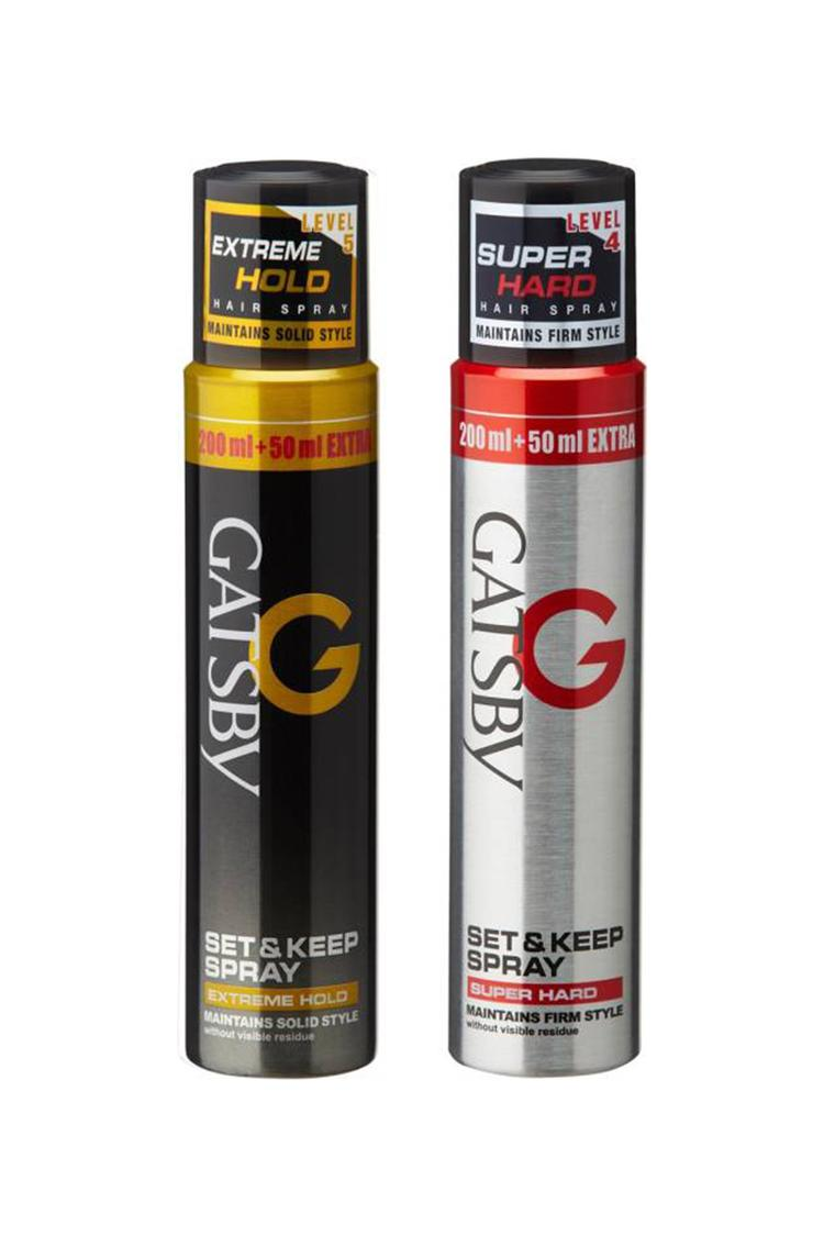 Gatsby Hair Spray Extreme Hold & Super Hard Hair S