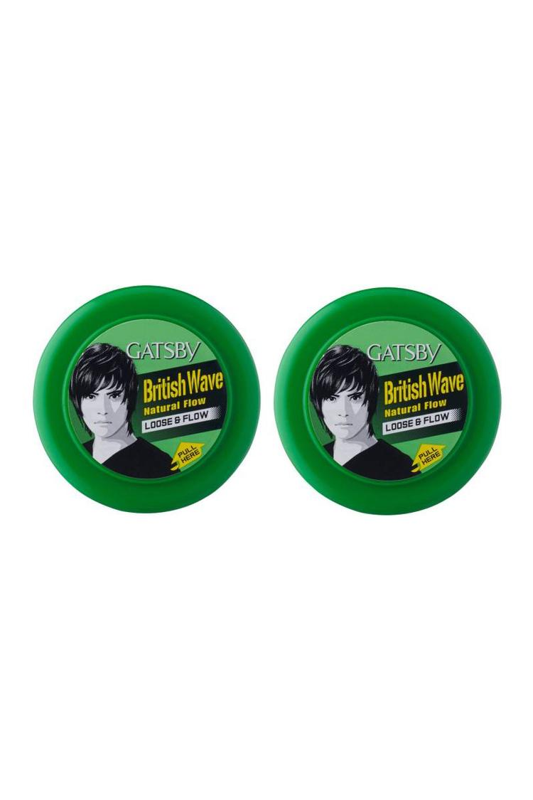 Gatsby Hair Styling Wax Loose & Flow 75Gm Pack Of