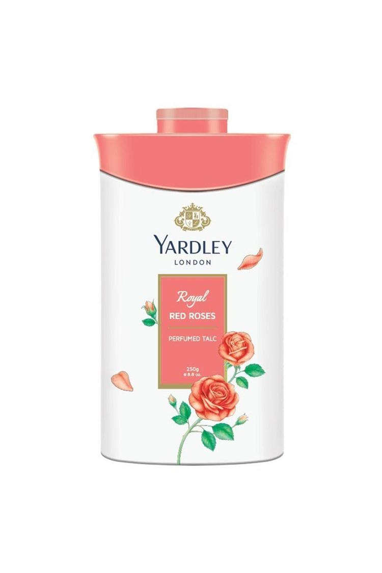 Yardley London Royal Red Rose Talc For Women 250Gm