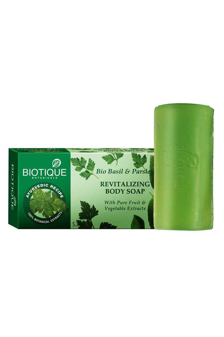 Biotique Basil And Parsley  Body Cleansers 150Gm