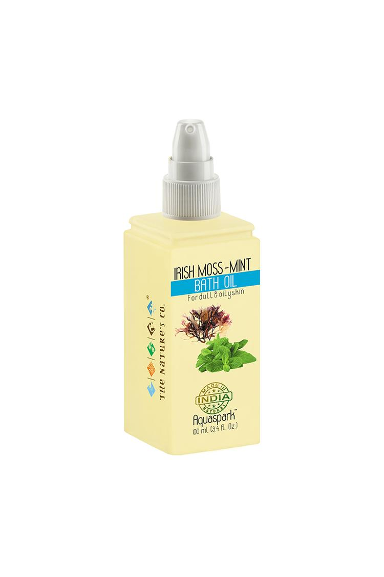 The Natures Co Irish Moss -Mint Bath Oil 100 Ml