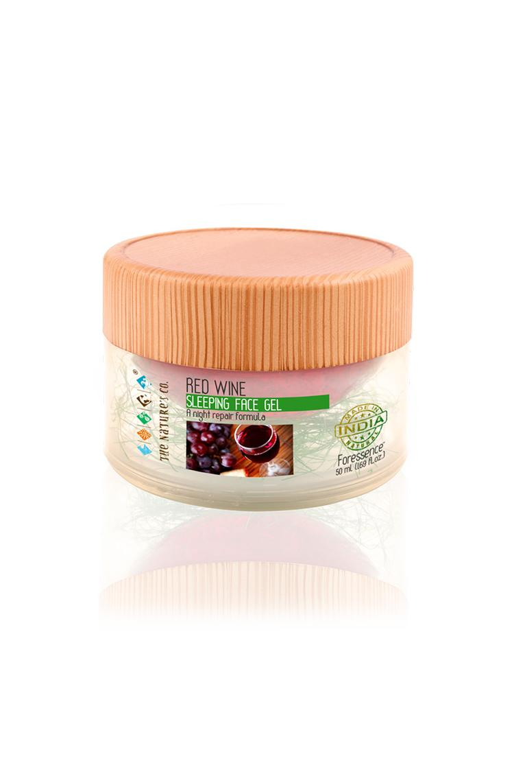 The Natures Co Red Wine Sleeping Facial Gel 50 Ml