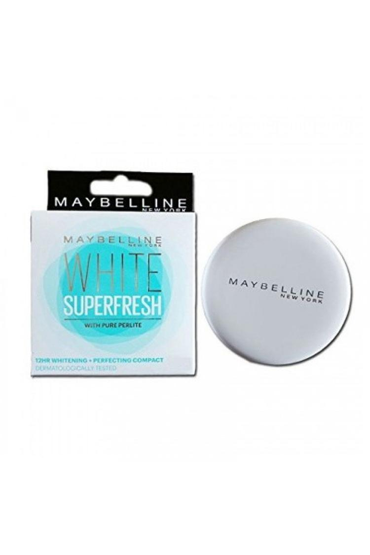 Maybelline New York White Super Fresh Compact Marb