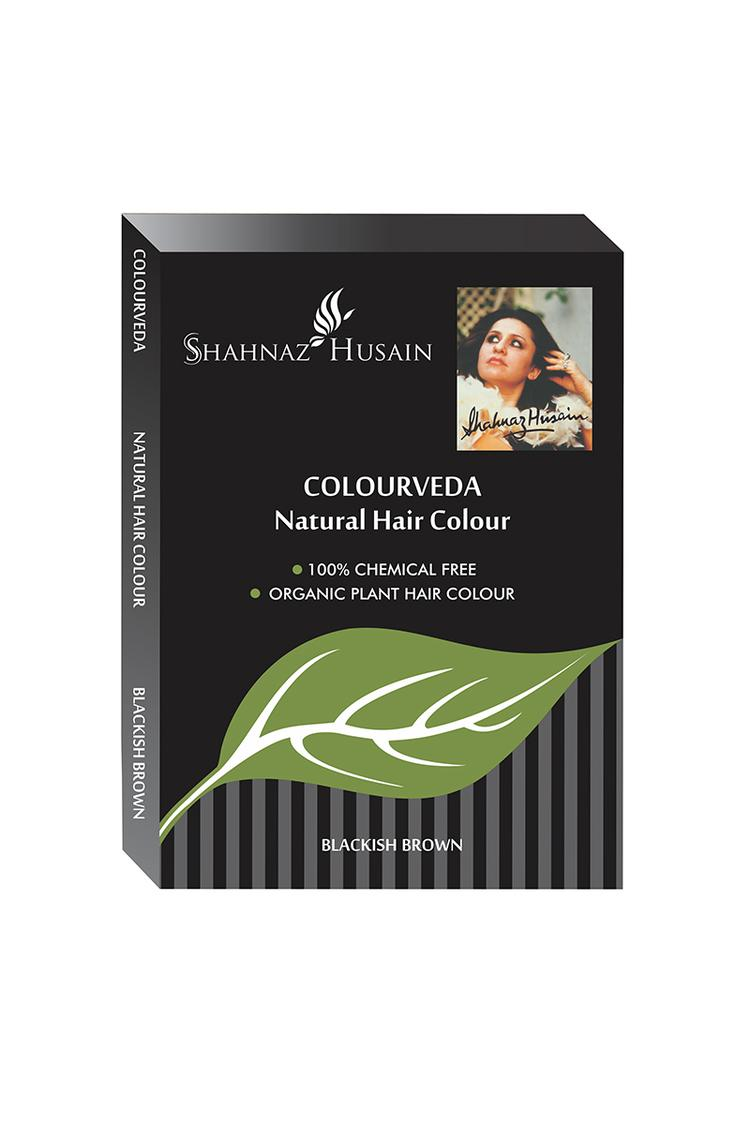 Shahnaz Husain Colour Veda Natural Hair Colour 100