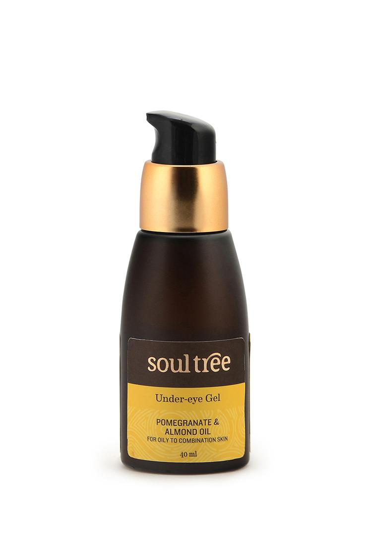 Soultree Pomegranate & Almond Oil Under Eye Gel 40