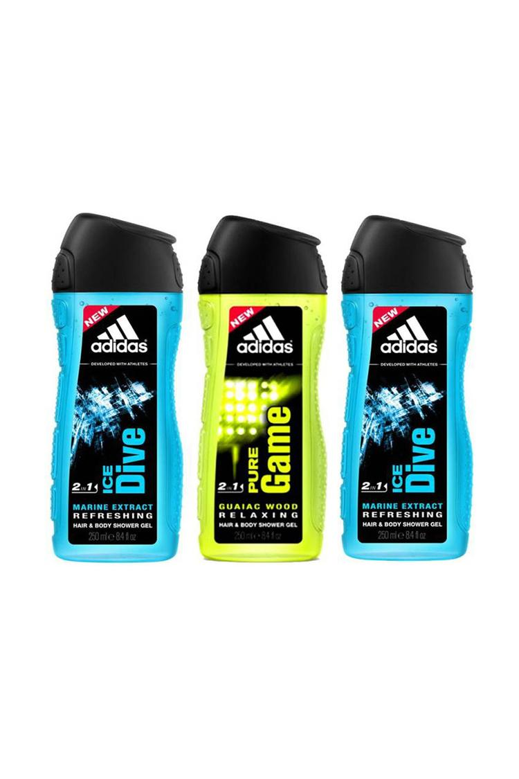 Adidas Shower Gel 250 Ml Pack Of 3