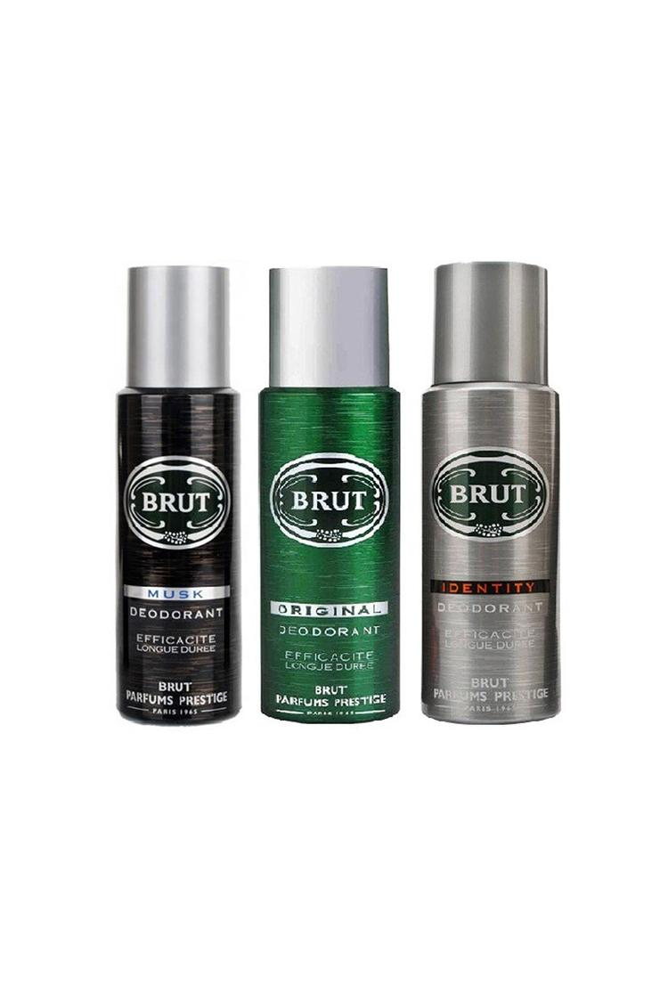 Brut Deo Musk Original And Identity 200Ml Gift Set