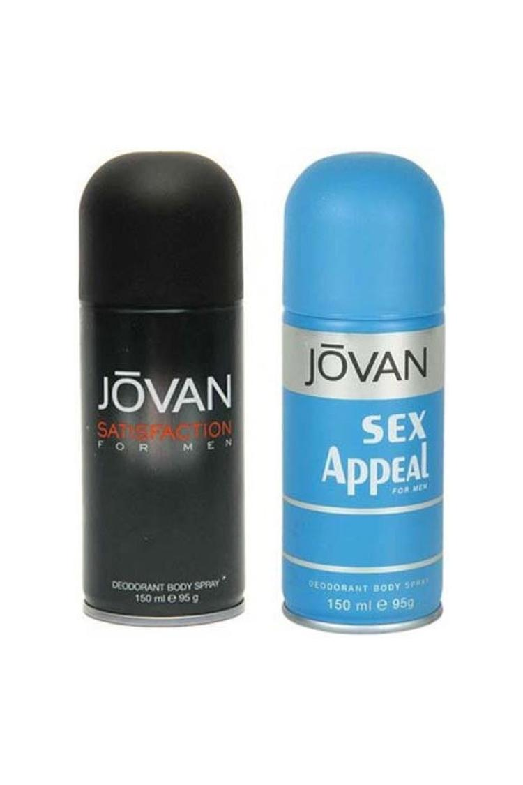 Jovan Satisfaction And Sex Appeal Combo