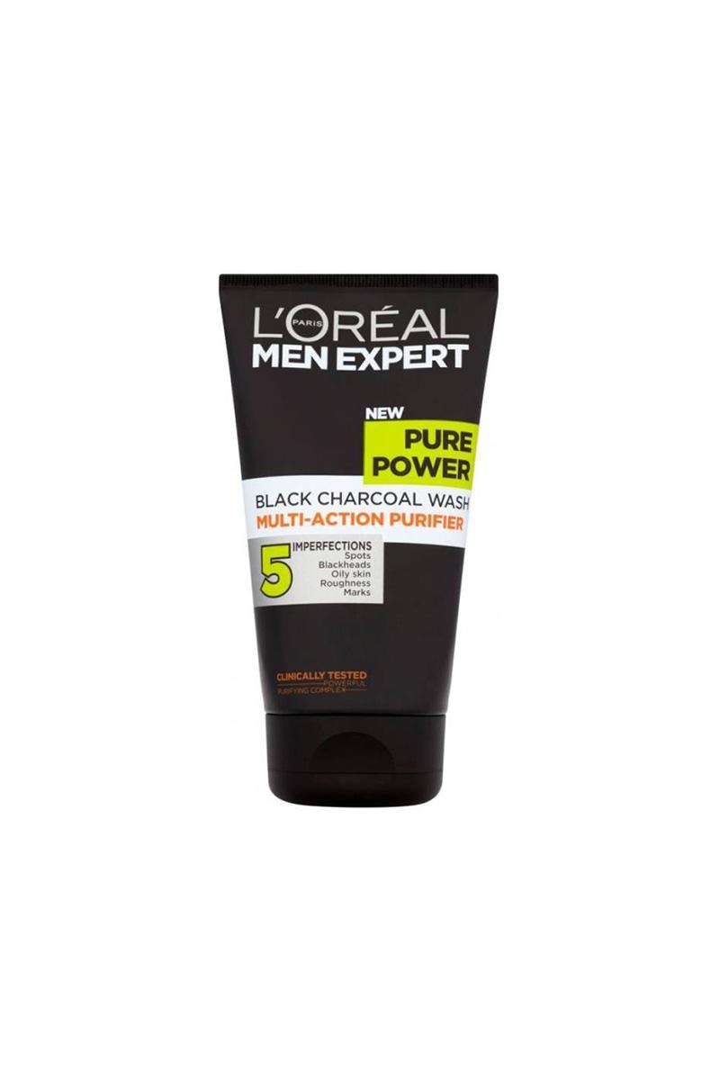Loreal Paris Men Expert Pure Power Daily Charcoal Face Wash 150ml White Foam