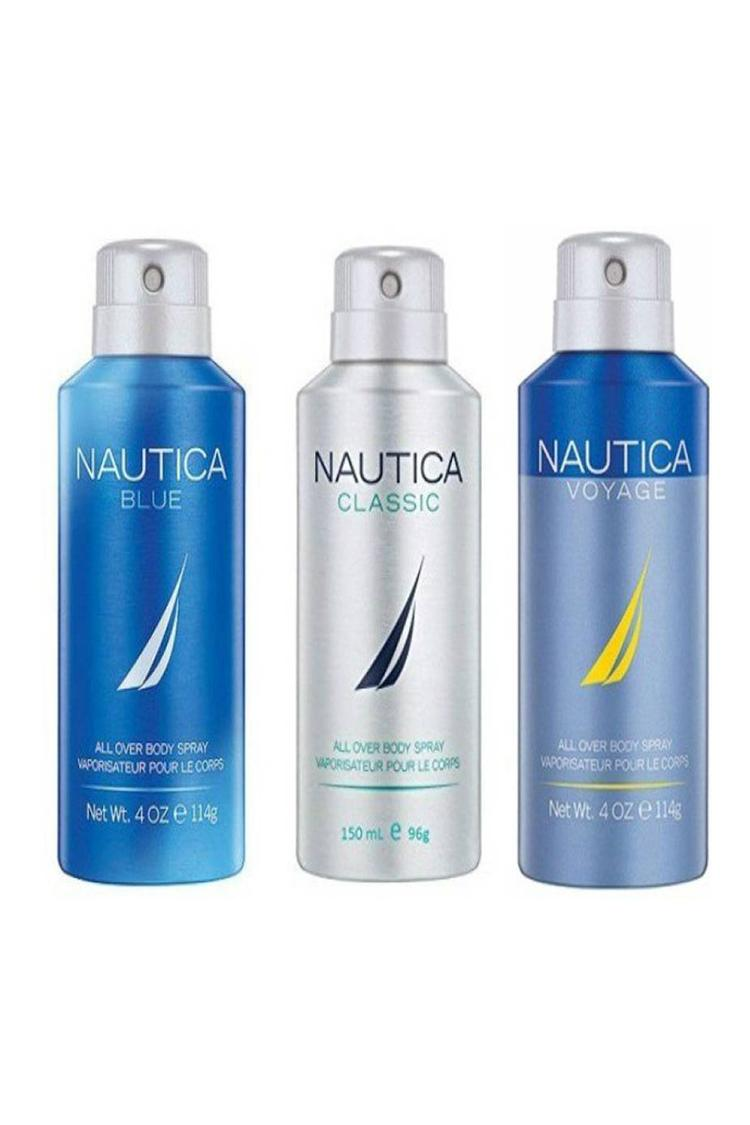 Nautica Blue Classic & Voyage Deodorant Spray For