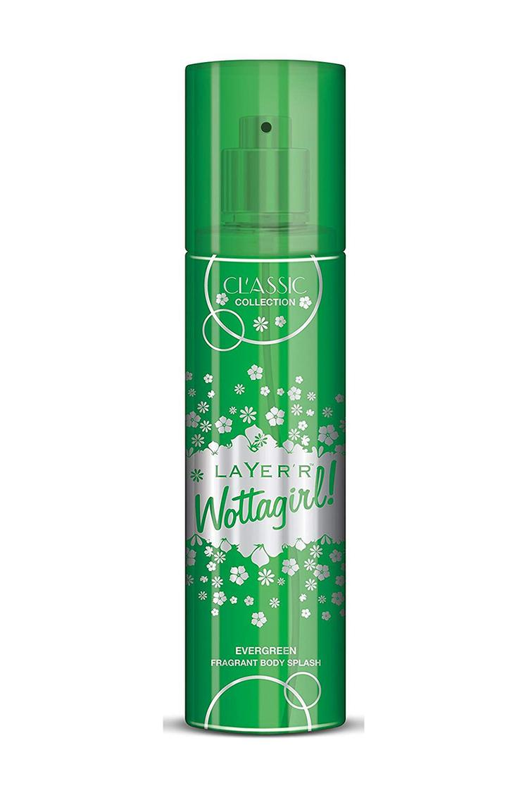 Layer'r Wottagirl Classic Collection Evergreen Body Splash 135ml