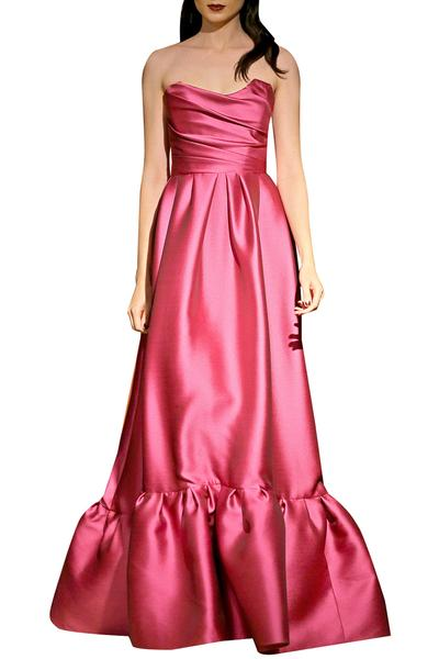 Gowns, Clothing, Carma, Pink Off Shoulder Gown ,  ,  ,