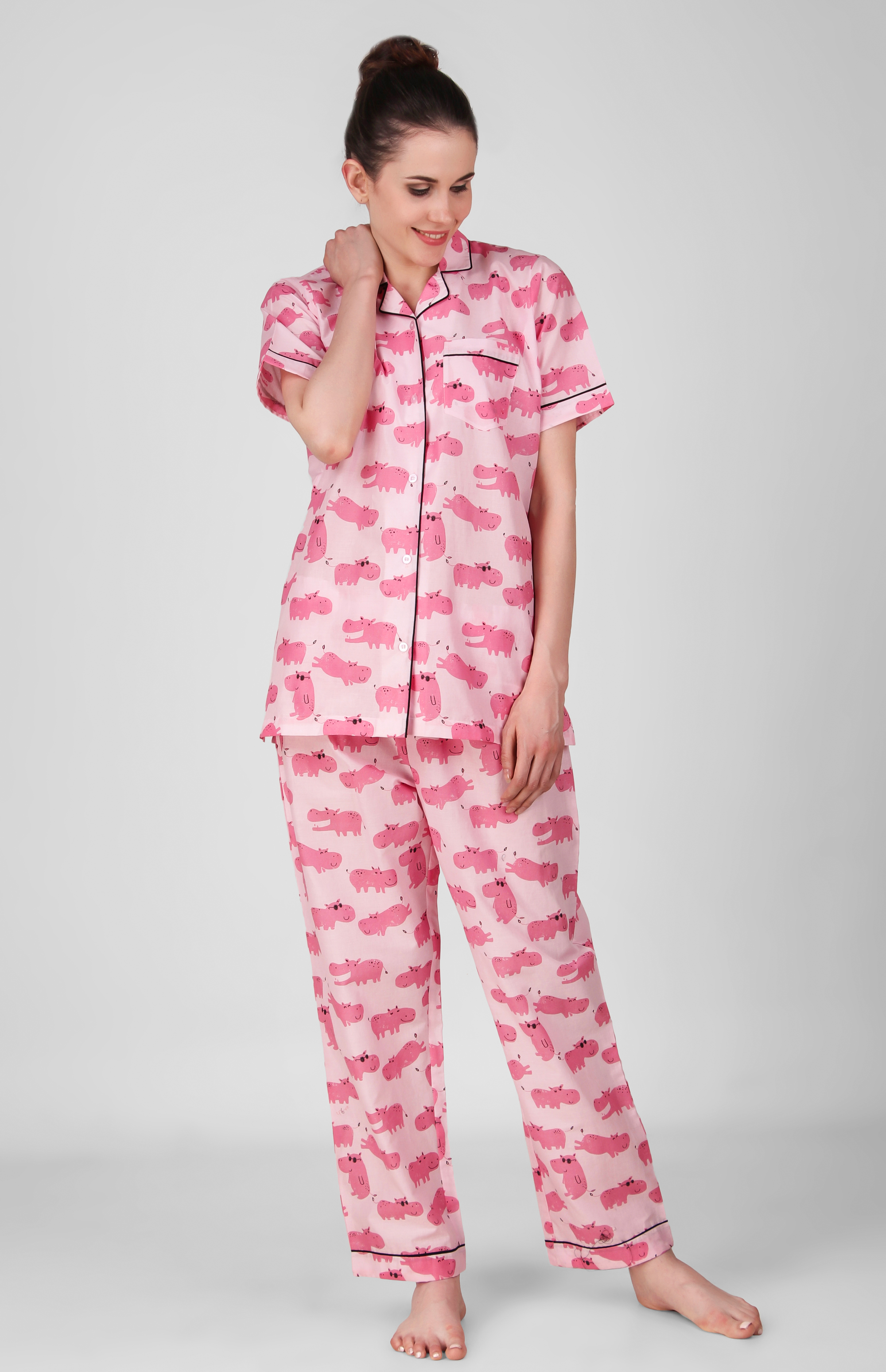 Home Night Suits Full Jammies Set