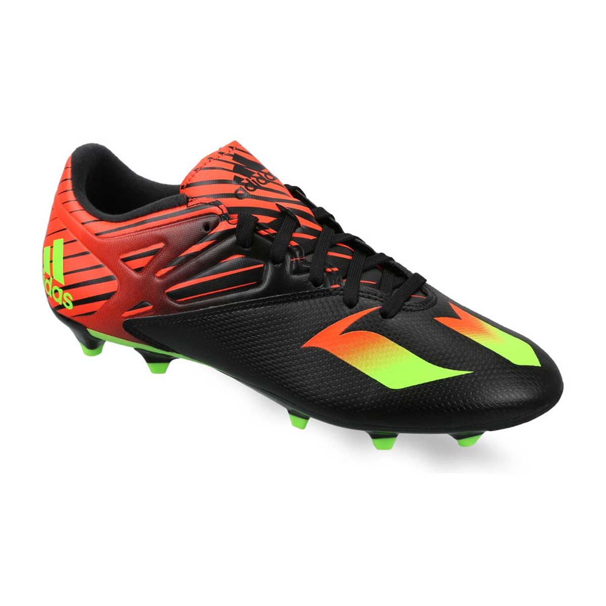 Buy Adidas Messi 15 3 Football Shoes Black Green Red Online