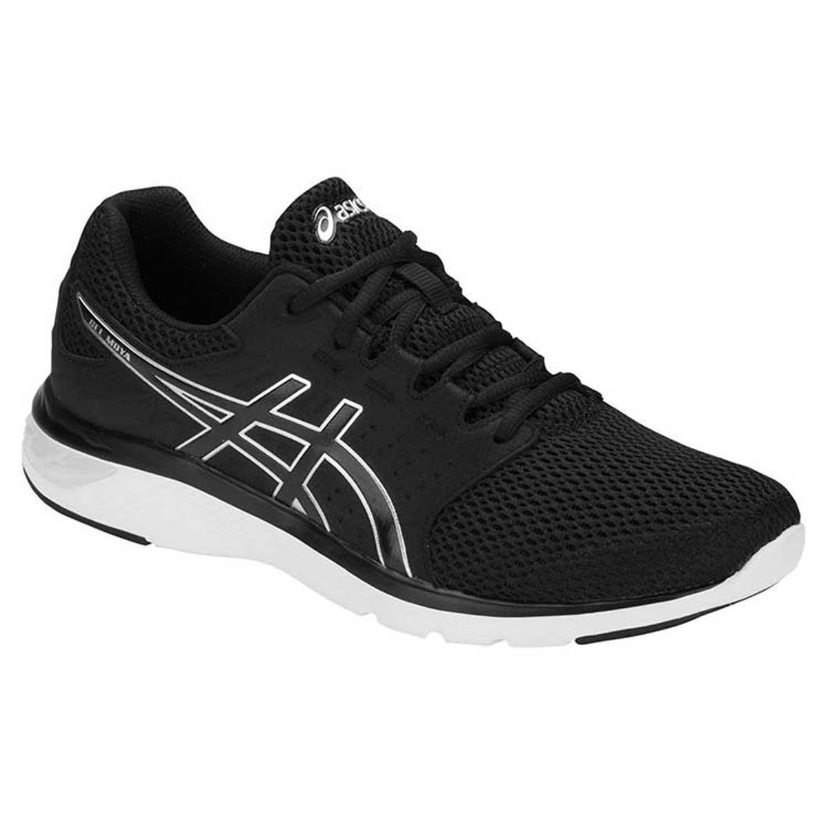 Buy Asics Gel-Moya Running Shoes (Black/Silver) Online India
