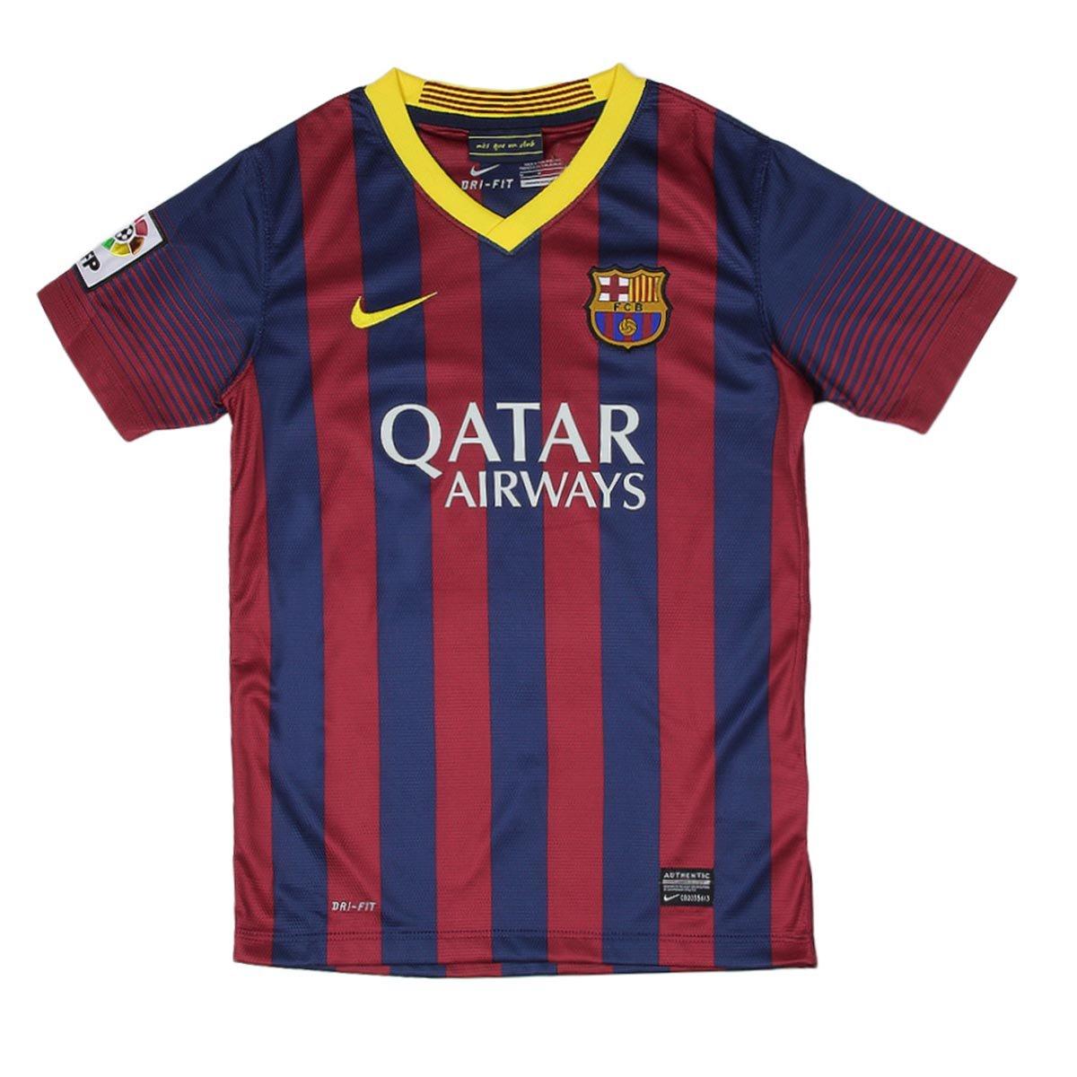 Buy Nike Fc Barcelona Home Jersey 2013 14 Boys Junior