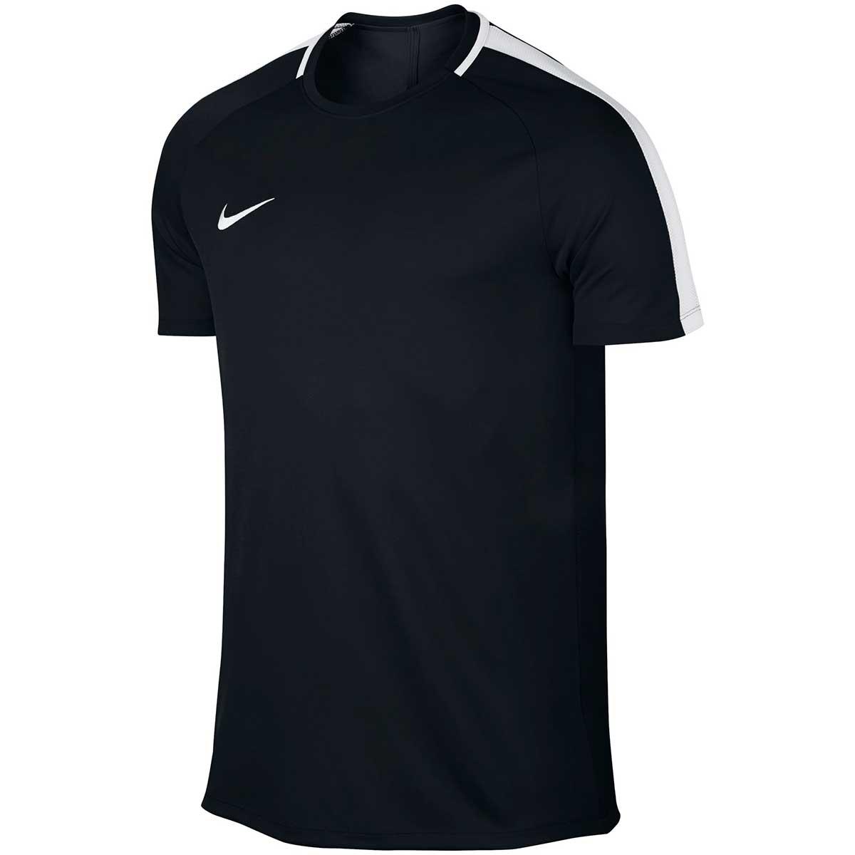Buy Nike Men S Dry Academy Football T Shirt Black White