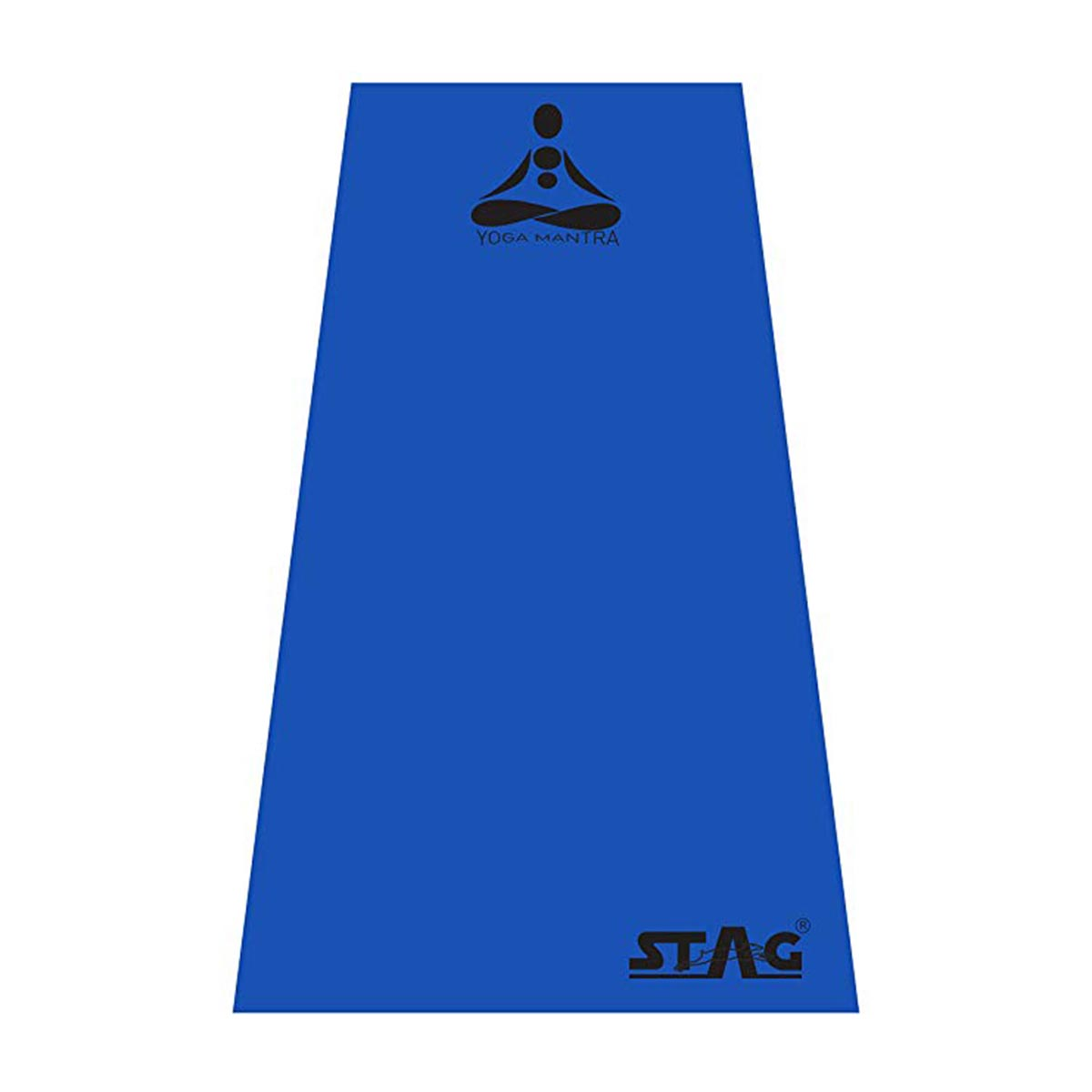 Buy Stag Mantra Yoga Mat With Bag 8mm Blue Online