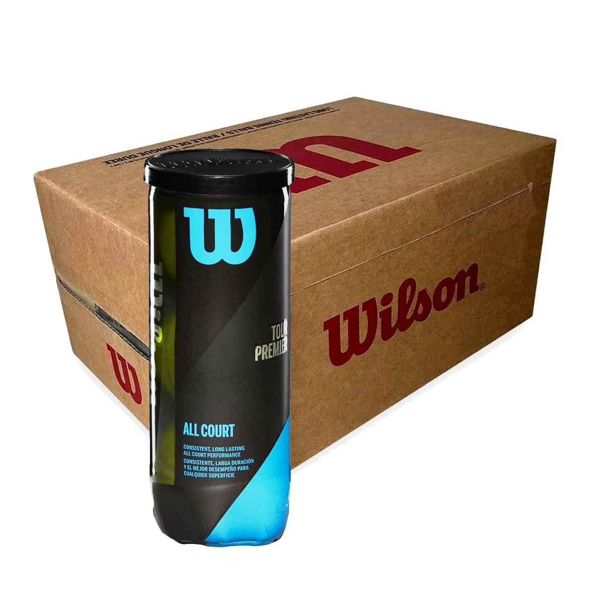Buy Wilson Tour Premier Tennis Balls 24 Cans Online India