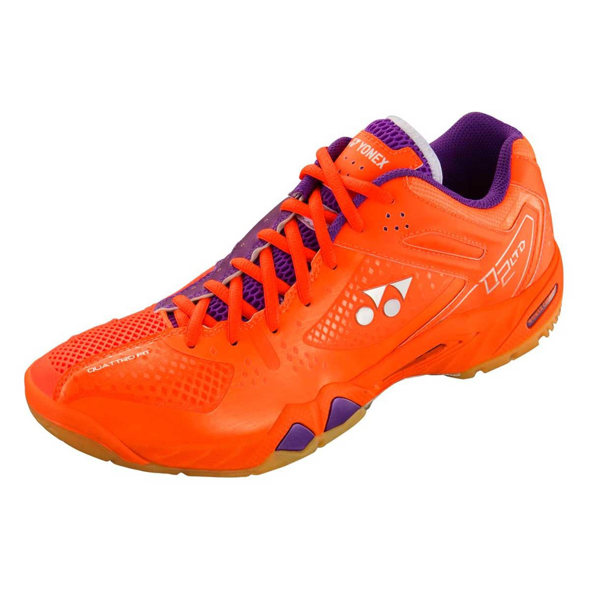 Buy YONEX SHB 02 LTD Badminton Shoes (Bright Orange ...